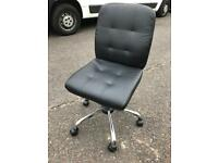 Leather Swivel Office Chair - Delivery Available