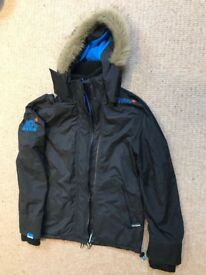 SuperDry Original Windcheater Japan - Black Coat (Small)