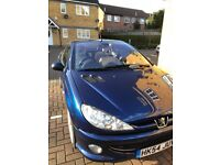 PEUGEOT 206 CC, IMMACULATE