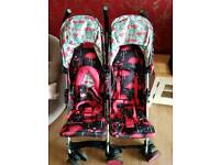 Cosatto double buggy (hardly used)