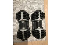 Bodymax 25 KG Selectabell Dumbbells - Pair (Only 3 months old - Like new) High quality!