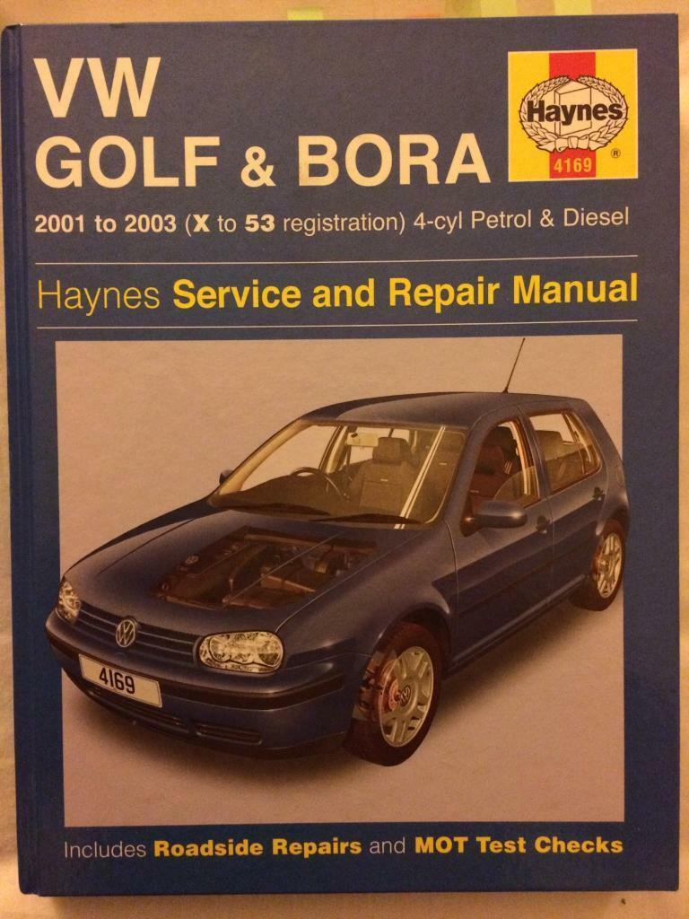 VW Golf &Bora Mk4 Haynes manual