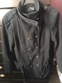 Next black coat