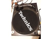 One pair of Technics Turntables for sale
