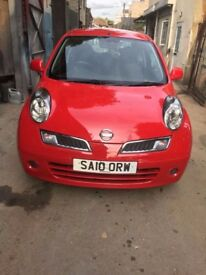 Nissan Micra 2010 Maunal Low Mileage and Stunning Red Colour