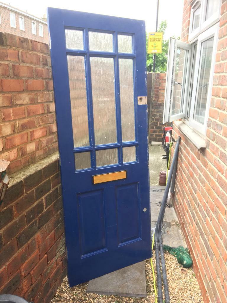 sale retailer d6319 1558b Blue front door £75 ONO | in Hackney, London | Gumtree