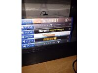 Playstation 4 and extras