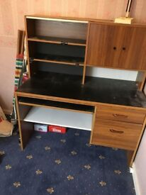 Desk and Chair FREE TO COLLECT Must go tomorrow