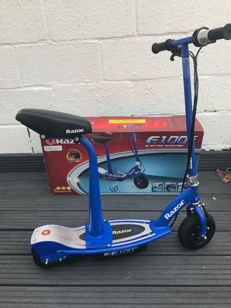 Razor Electric Scooter E100s Argos Price 115 Very Good Condition