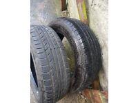 185 65 15 part worn tyres