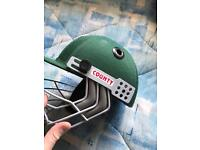 County child's cricket helmet