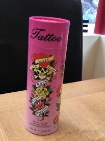 Tattoo perfume gift