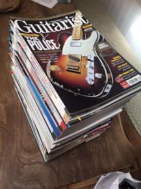 Guitar mags !!! Quick sale