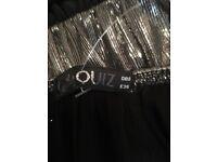 Quiz Cropped Jumpsuit - size 8