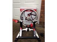 Elite Qubo Digital Smart B+ Turbo Trainer & wheel, cassette, tyre