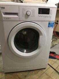 Beko 7kg washing machine. Excellent condition.no longer needed as new kitchen