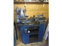 Myford ML7 Lathe with clutch and stand