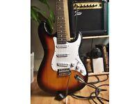 Electric Guitar Jack & Danny ST Pack SB Sunburst