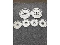 50KG OLYMPIC METAL WEIGHT PLATES