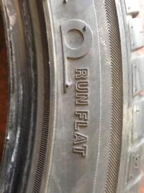 Wheels and tyres 2054517 runflat