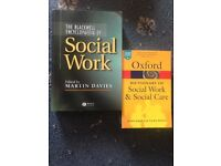 Oxford dictionary & Blackwell encyclopaedia of social work