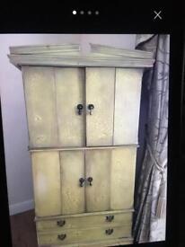 TV/storage cabinet.