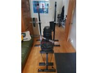 Complete gym training set