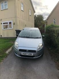 Fiat Grande Punto 1.2 3dr, Low Milage. MOT due 01/11/2018. Ideal for first time driver. 2 owners.