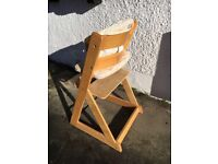 Mothercare stokke copy high chair £10