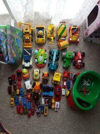 basket of cars with matt