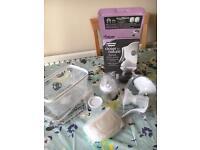 Tommee tippee manual breast pump- brand new