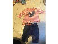 Bundle of newborn baby girl clothes. Excellent condition, smoke free home