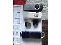 USB flash drives job lot