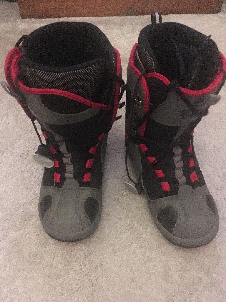 Excellent condition BigAir snowboard boots Size 8.5 (43)