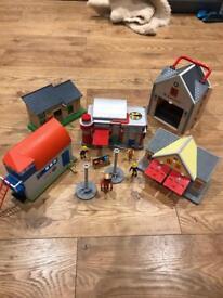 Fireman Sam/Postman Pat sets