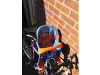 Front bike seat for toddler
