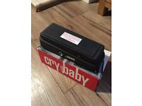 Cry Baby wah pedal for guitar