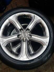 Genuine Audi a5 2012 coupe wheels x4