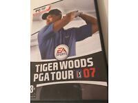 Tiger Woods PGA tour 07 game