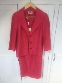 Pink Précis Dress and Jacket BNWT Size 12