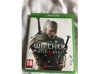 Xbox one game witcher wild hunt