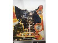 Dr Who remote controlled Dalek in original box.