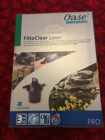 Oase Filtoclear 12000 Pond Pressure Filter - Brand New & Unboxed