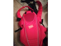 Baby way red carrier