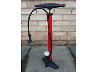Bicycle track pump