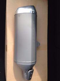 Suzuki GSXR 1000 L6 standard exhaust silencer