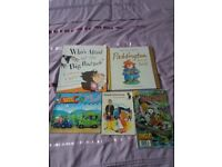 Selection of books - some new, used books in excellent condition. Books for variety of ages