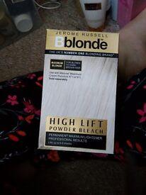 Free Bblonde hair bleach various