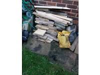 Free wood for log burner