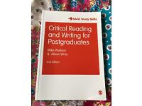 Critical writing textbook